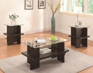 Coaster 700785 3PC OCCASIONAL SET (WALNUT)