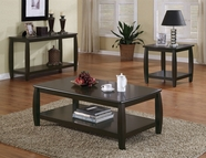Coaster 701077-78-79 Double Shelf Table set
