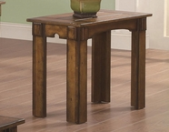 Coaster 702456 SIDE TABLE (BURNISHED OAK)