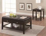 Coaster 702497-98 Occasional Table Group