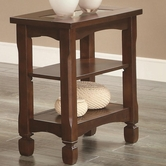 Coaster 702526 SIDE TABLE (WALNUT)