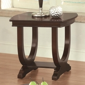 Coaster 702816 CHAIRSIDE TABLE (CAPPUCCINO)