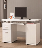 Coaster 800108 COMPUTER DESK (WHITE)