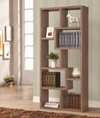 Coaster 800128 BOOKSHELF (DISTRESSED BROWN)