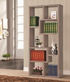 Coaster 800129 BOOKSHELF (DISTRESSED GREY)