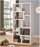 Coaster 800136 BOOKSHELF (WHITE)