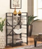 Coaster 800137 BOOKSHELF (BLACK)