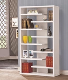 Coaster 800147 BOOKSHELF (WHITE)