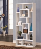 Coaster 800157 BOOKSHELF (WHITE)