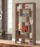 Coaster 800158 BOOKSHELF (DISTRESSED BROWN)