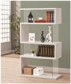 Coaster 800300 BOOKSHELF (WHITE)