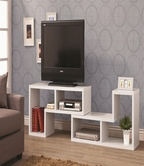 Coaster 800330 TV CONSOLE (WHITE)