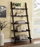 Coaster 800338 LADDER BOOKCASE (CAPPUCCINO)