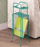 Coaster 800387 STORAGE TABLE (AQUA)