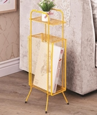 Coaster 800389 STORAGE TABLE (YELLOW)