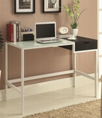 Coaster 800405 DESK (WHITE/BLACK)