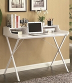 Coaster 800407 DESK (HIGH GLOSS WHITE)