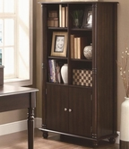 Coaster 800473 BOOKSHELF (WALNUT)
