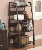 Coaster 801143 BOOKCASE (DEEP COFFEE/BLACK)