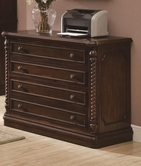 Coaster 801154 FILE CABINET (WALNUT)