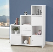 Coaster 801169 BOOKSHELF (WHITE)