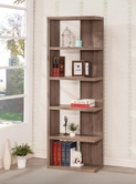 Coaster 801174 BOOKSHELF (DISTRESSED GREY)