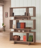 Coaster 801176 BOOKSHELF (DISTRESSED GREY)