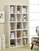 Coaster 801180 BOOKSHELF (WHITE)