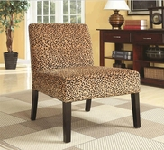 Coaster 900184 CHAIR (LEOPARD)