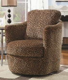 Coaster 900195 SWIVEL CHAIR (LEOPARD PATTERN)