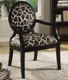 Coaster 900214 ACCENT CHAIR (GIRAFFE PATTERN)