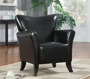 Coaster 900253 ACCENT CHAIR (BLACK)