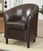 Coaster 900275 ACCENT CHAIR (CHOCOLATE)
