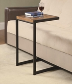 Coaster 900276 SNACK TABLE (OAK/BLACK)