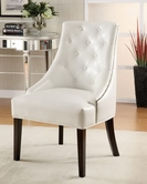 Coaster 900283 ACCENT CHAIR (WHITE)