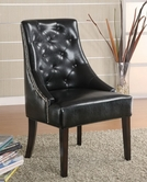 Coaster 900285 ACCENT CHAIR (BLACK)