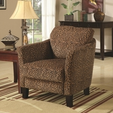 Coaster 900403 CHAIR (LEOPARD)