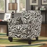 Coaster 900404 CHAIR (ZEBRA)