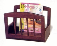 Coaster 900459 MAGAZINE RACK (CHERRY)