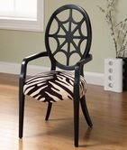 Coaster 900525 ACCENT CHAIR (ZEBRA PATTERN)