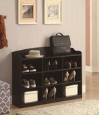 Coaster 900615 SHOE STORAGE RACK (CAPPUCCINO)