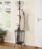Coaster 900811 COAT RACK (BLACK)