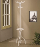 Coaster 900822 COAT RACK (WHITE)