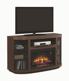 Coaster 900851 FIREPLACE (BROWN WALNUT)
