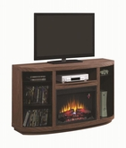 Coaster 900852 FIREPLACE (BROWN WALNUT)