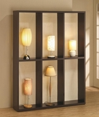 Coaster 900900 LAMP DISPLAY (DARK BROWN)