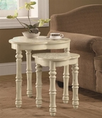 Coaster 901034 NESTING TABLES (ANTIQUE WHITE)