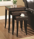 Coaster 901046 NESTING TABLES (CAPPUCCINO)