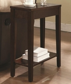 Coaster 901052 CHAIRSIDE TABLE (CAPPUCCINO)