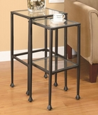 Coaster 901073 NESTING TABLES (METAL)